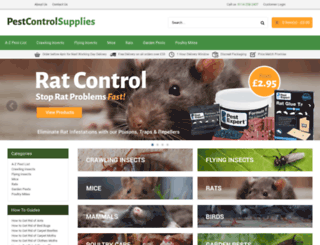 pestcontrolsupplies.co.uk screenshot