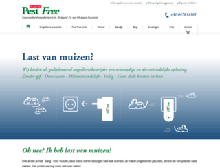 pestfree.nl screenshot
