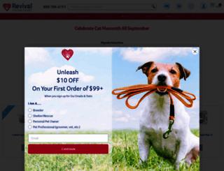 pet-healthcare.revivalanimal.com screenshot