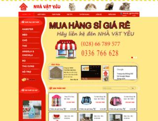 pet-house.com.vn screenshot