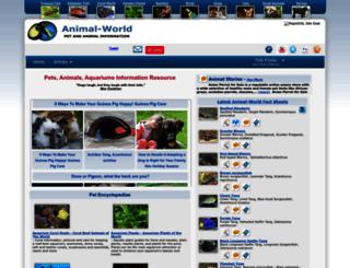 pet-talk.animal-world.com screenshot