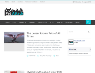 petattack.com screenshot