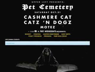 petcemetery.electrostub.com screenshot