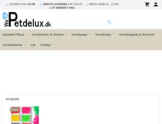 petdelux.dk screenshot