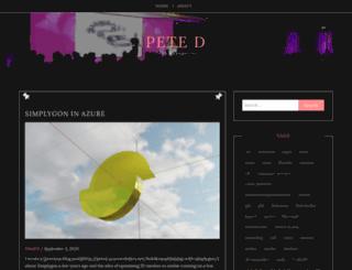 peted.azurewebsites.net screenshot