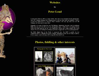 peterloud.co.uk screenshot