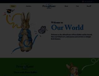 peterrabbit.com screenshot