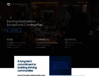 petersoncos.com screenshot