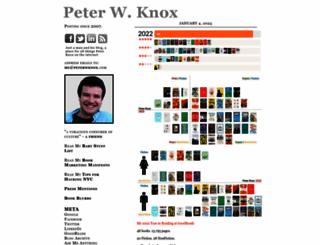 peterwknox.com screenshot