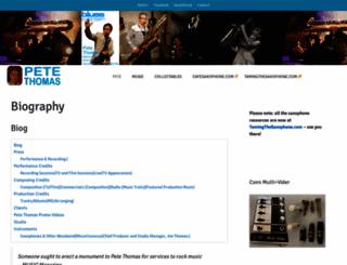 petethomas.co.uk screenshot