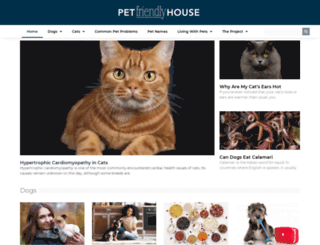 petfriendlyhouse.com screenshot