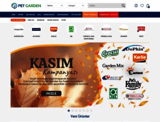 petgarden.com.tr screenshot