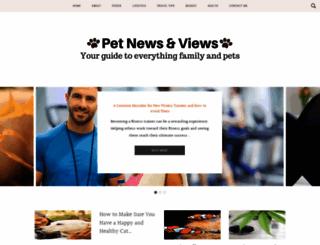 petnewsandviews.com screenshot