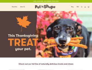 petnshape.com screenshot