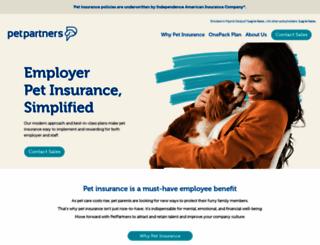 petpartners.com screenshot