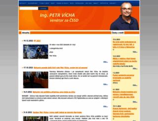 petr-vicha.cz screenshot