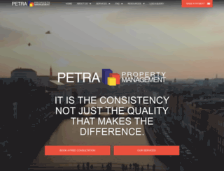 petra.ie screenshot