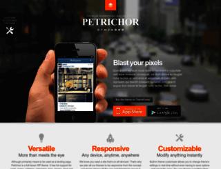 petrichor-wp.webfactoryltd.com screenshot