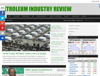 petroleumindustryreview.com screenshot