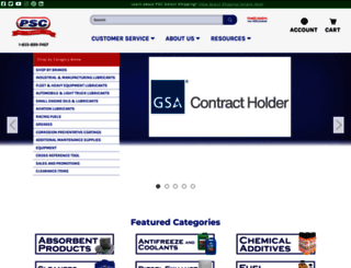 petroleumservicecompany.com screenshot