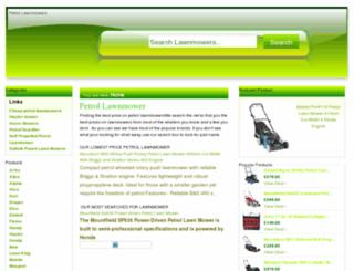 petrollawnmowerdeals.co.uk screenshot