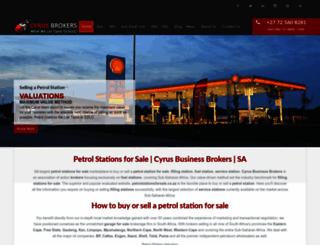 petrolstations.co.za screenshot