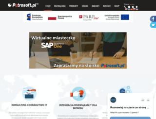 petrosoft.pl screenshot