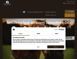 petschnighof.at screenshot