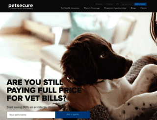 petsecure.com screenshot