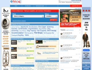 petshq.com.au screenshot