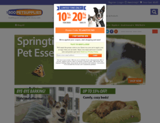 petsupplies.com screenshot