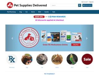 petsuppliesdelivered.com screenshot