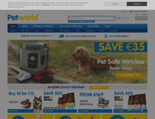 petworlddirect.ie screenshot