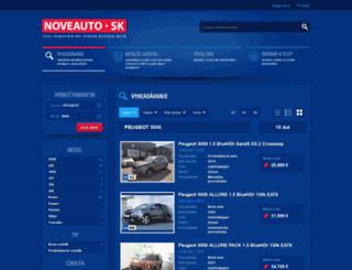 peugeot-5008.noveauto.sk screenshot