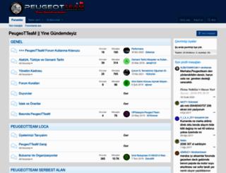 peugeotteam.com screenshot