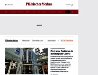 pfaelzischer-merkur.de screenshot