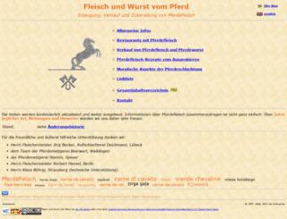 pferd-und-fleisch.de screenshot
