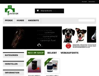 pferde-apotheke24.de screenshot
