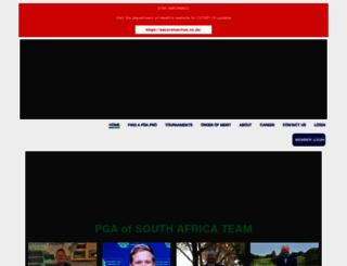 pga.co.za screenshot