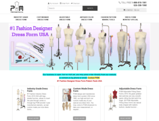 pgmdressform.com screenshot