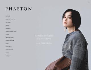 phaeton-co.com screenshot