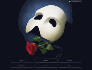 phantomoftheopera.com screenshot