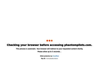 phantompilots.com screenshot
