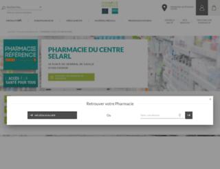 pharmacie-chinon.com screenshot