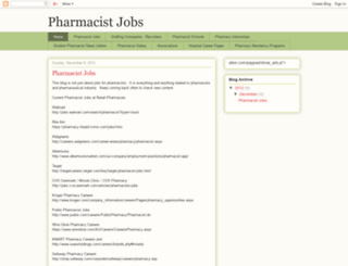 pharmacistjobs.us screenshot