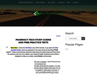 pharmacy-tech-test.com screenshot