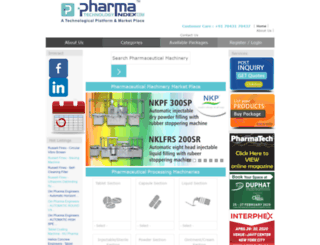 pharmatechnologyindex.com screenshot