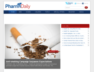 pharmdaily.com screenshot