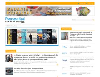 pharmrep.pl screenshot