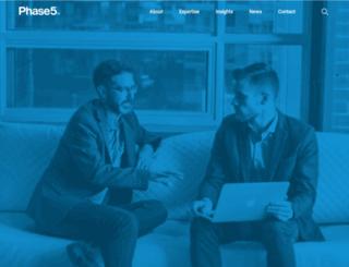 phase5ux.com screenshot